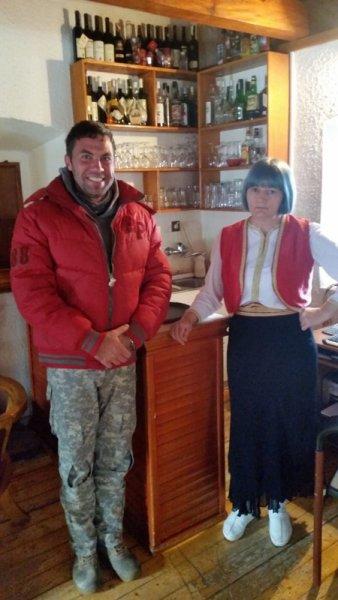 национальный костюм в Черногории