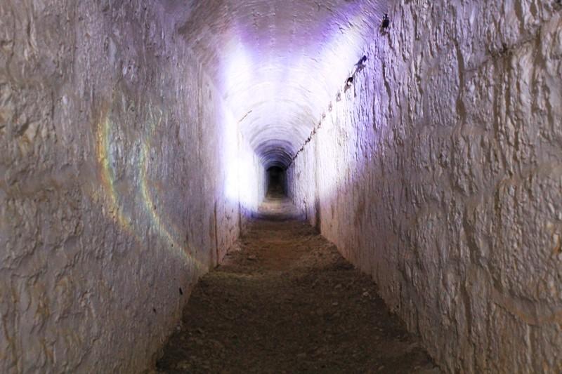 Подземный туннель в 400 метров - крепость Grabovac