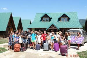 Детский лагерь в Черногории