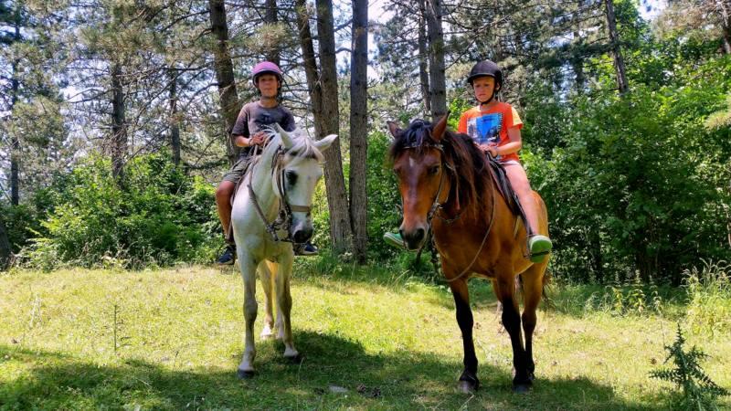 конный тур в Черногории