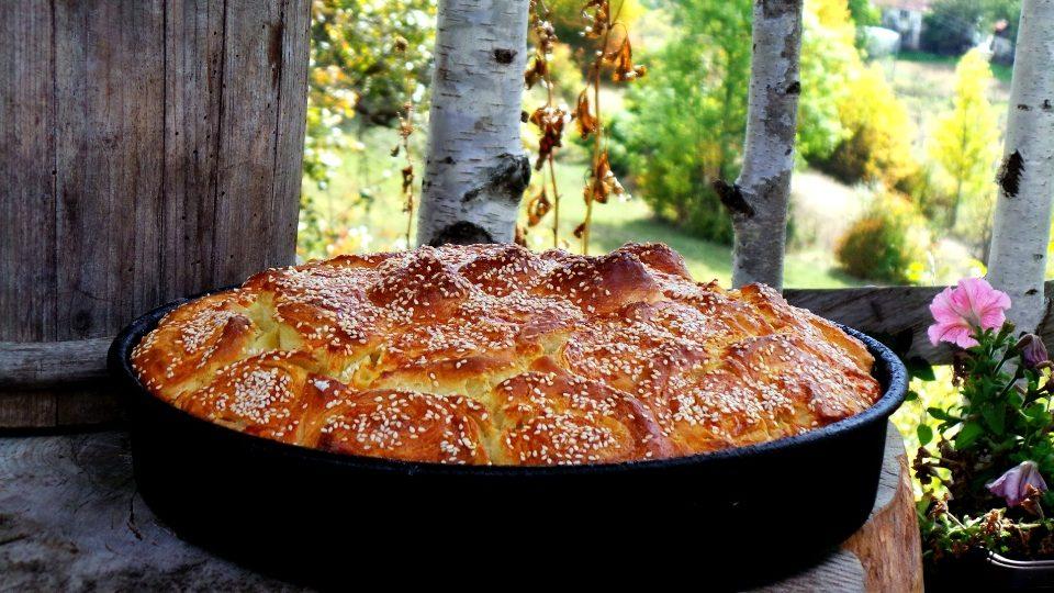 домашний Черногорский хлеб