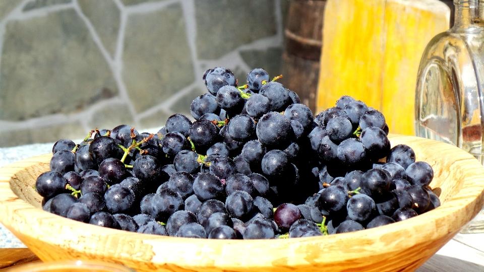домашний виноград Черногория