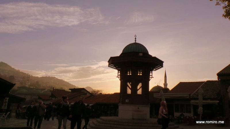 старый город Сараево