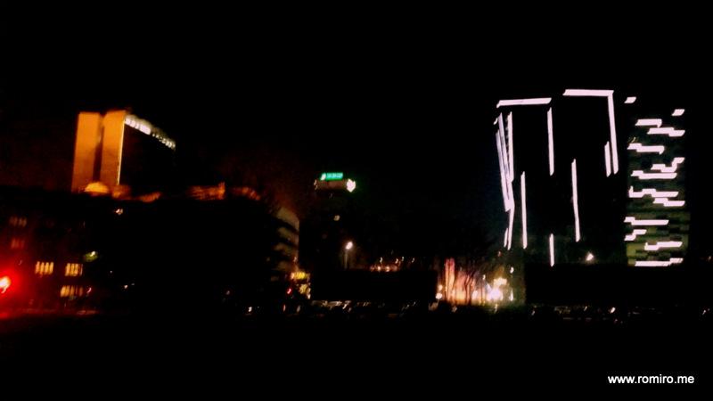 night Sarajevo