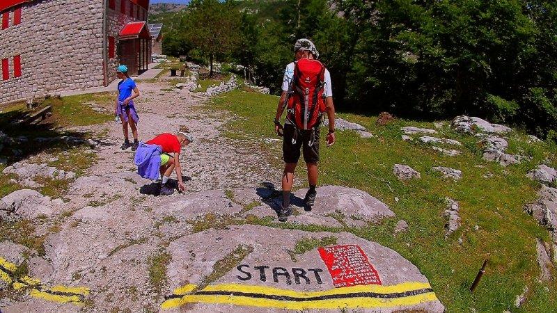 hiking Orien Montenegro