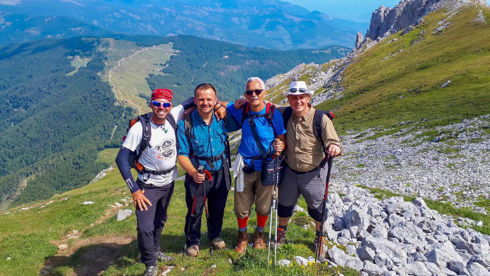 поход в горы Черногория