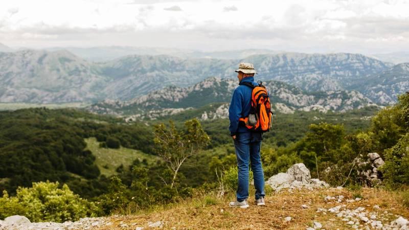 поход по горам Черногории