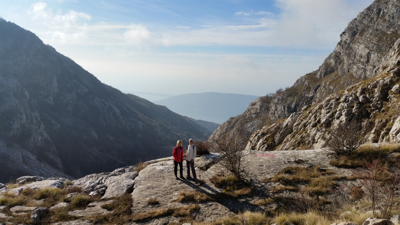 hiking tours Subra Orien Montenegro