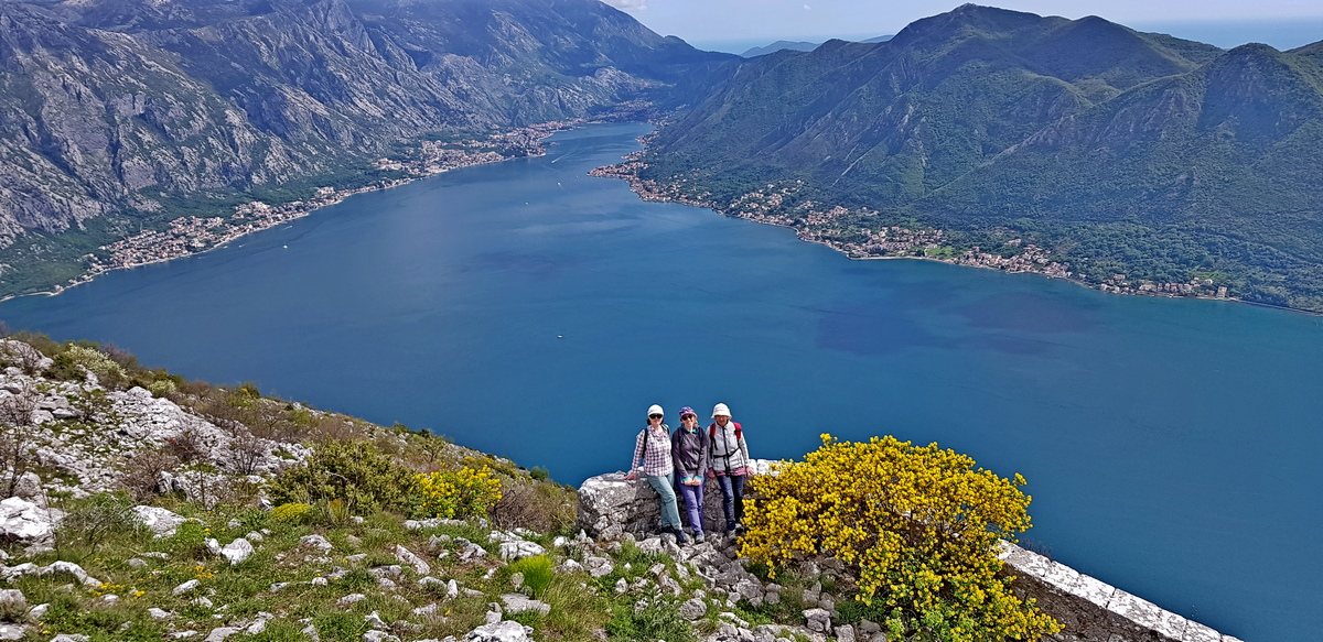 hiking tour Montenegro Orahovac