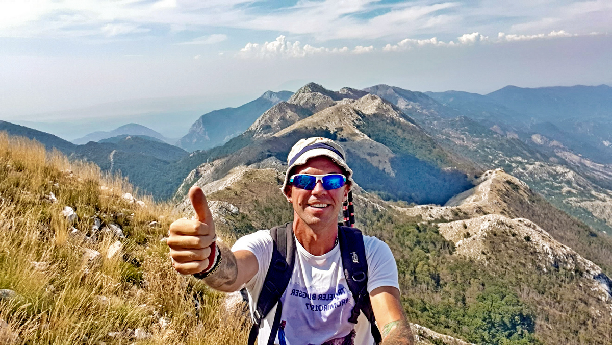 hiking tour in Montenegro Rumija